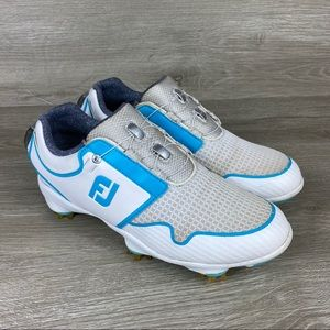 FootJoy Sport TF BOA Womens Golf Shoes Size 5